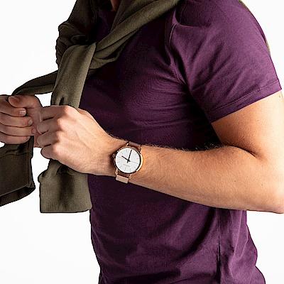 CALVIN KLEIN even 超然系列手錶-白x玫瑰金/42mm