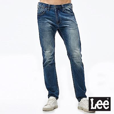 Lee 中腰合身小直筒牛仔褲/101+