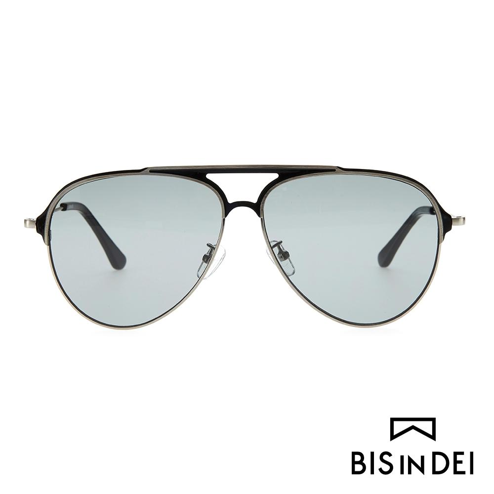 BIS IN DEI 美式飛行框太陽眼鏡-黑