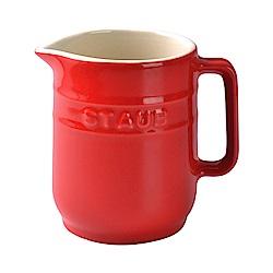 Staub 陶瓷牛奶壺 紅色 250ml