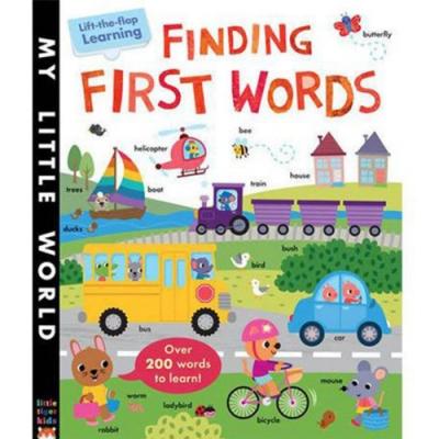 Finding First Words 我的第一本單字書精裝翻翻書