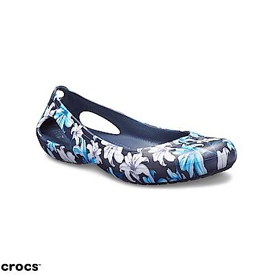 Crocs 卡駱馳 (女鞋) 卡笛圖案輕便鞋 200104-97P