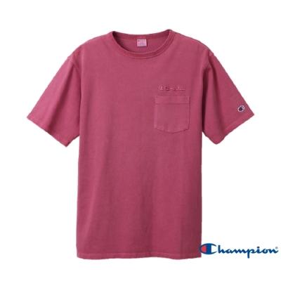 Champion Campus口袋短Tee(紫色)