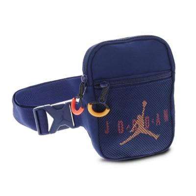 Nike 斜背包 Jordan Festival Bag 喬丹 飛人 外出 輕便 百搭 手機包 藍 橘 JD2113013AD002