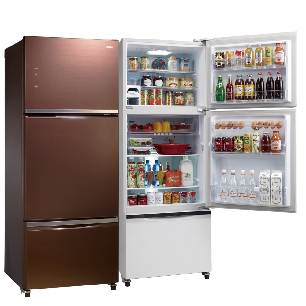 SAMPO聲寶 455L 1級變頻3門電冰箱 SR-A46GDV(R7)