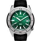 SQUALE 鯊魚錶 1521海洋系列機械錶-綠x黑/42mm