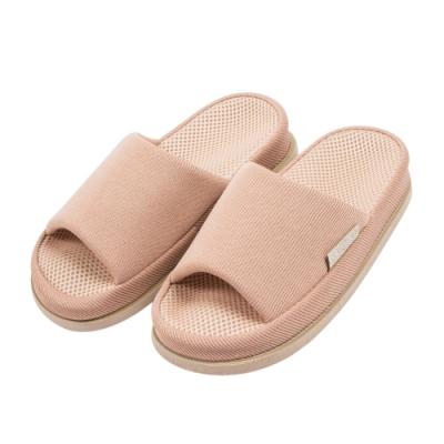 樂嫚妮 腳底舒壓穴道按摩室內拖鞋-眼睛-鞋長24cm