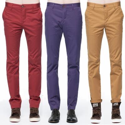 [時時樂限定]BRAPPERS 男款 舒適柔軟萊卡彈性休閒褲(多款選)