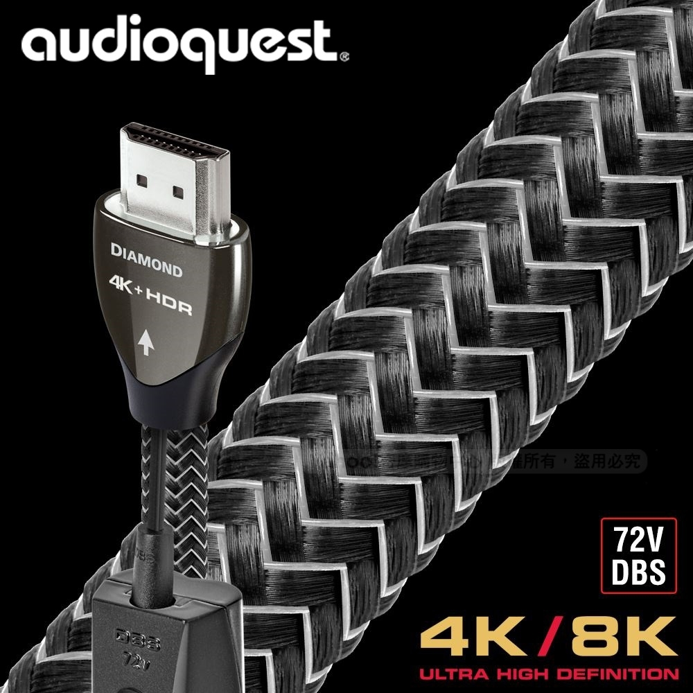 AudioQuest Diamond HDMI影音傳輸線 - 3m