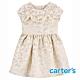 【Carter's】緹花梭織氣質短袖洋裝(2T-5T)  (台灣總代理) product thumbnail 1