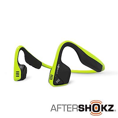 AFTERSHOKZ Trekz Titanium AS600骨傳導藍牙運動耳機(螢光綠)