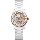 Vivienne Westwood Sloane 晶鑽陶瓷手錶-白/30mm