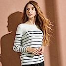 CACO-細條紋針織衫-(兩色)-女【RAR030】