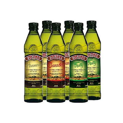 西班牙BORGES百格仕  單一品種橄欖油禮盒組(250mlx3) 2組