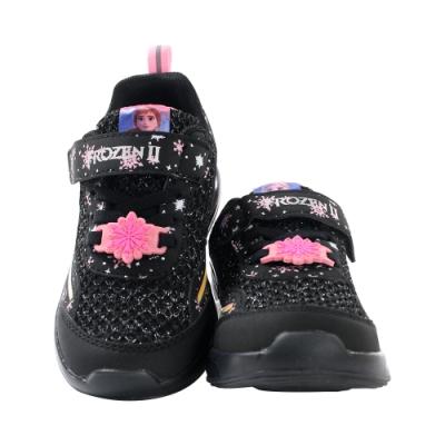 女童迪士尼冰雪奇緣閃燈慢跑鞋 sa94920 魔法Baby