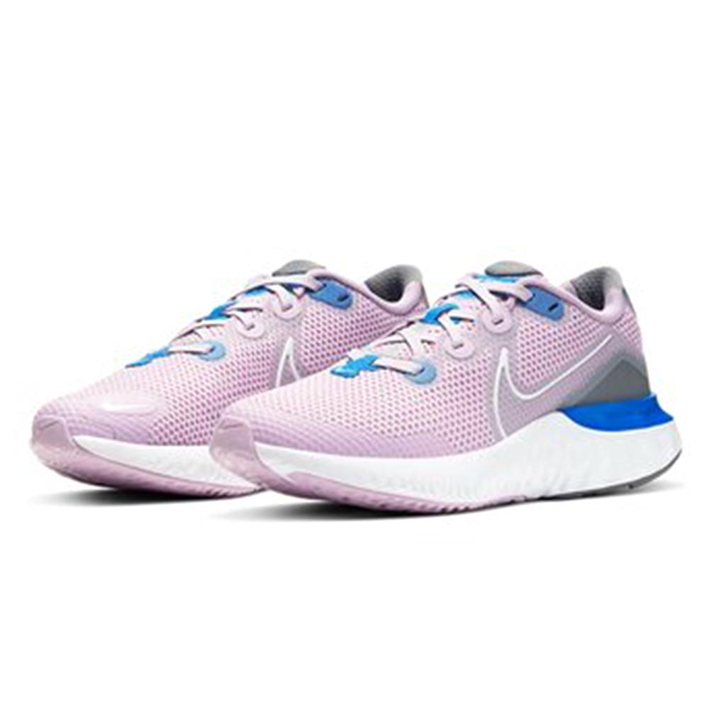 NIKE 緩震 慢跑 運動鞋 大童 女鞋 粉 CT1430510 RENEW RUN GS