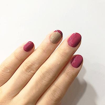 OPI 意想不到的絕美配色-暖褐色x深桃紫(ISL21+ISLI64)
