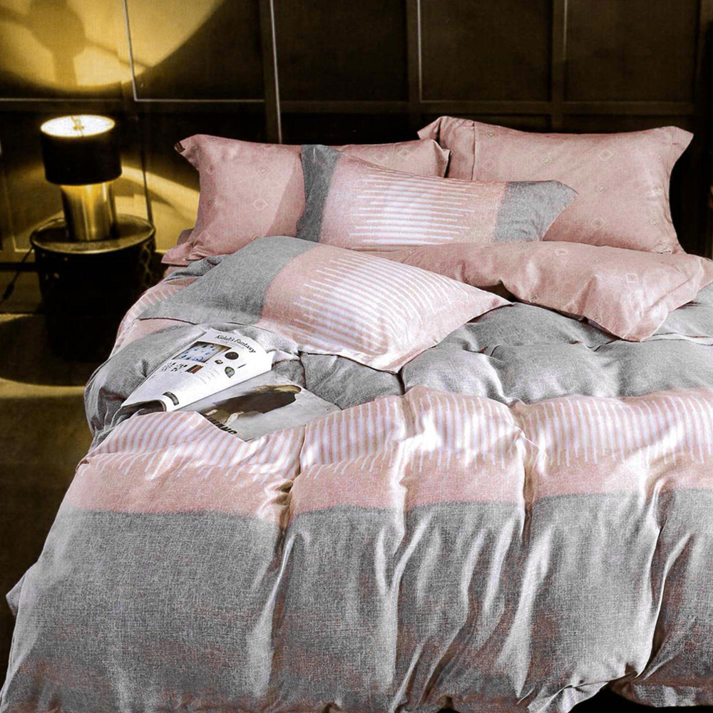 Lily Royal 百分百純天絲涼被床包四件組 特大 伊洛