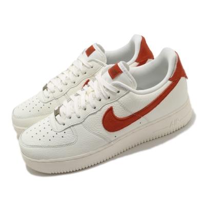Nike 休閒鞋 Air Force 1 07 運動 男鞋 經典款 皮革 簡約 舒適 穿搭 白 紅 CV1755100