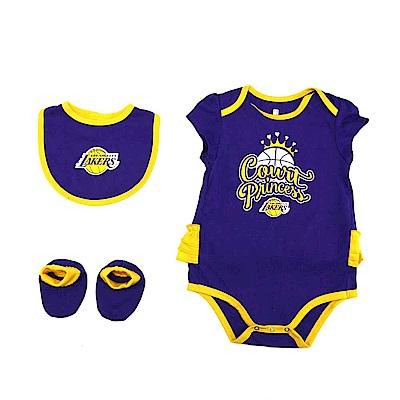 NBA 新生兒包屁衣組合 湖人隊 12-24M
