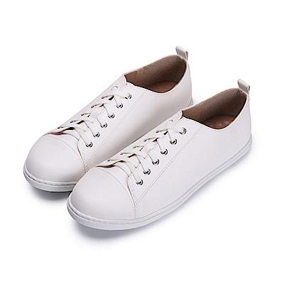 BuyGlasses 簡約風小文青休閒鞋-白