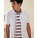 CACO-牛津短袖素襯衫(三色)-男【SAR054】