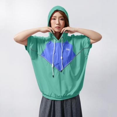 UDOU 透氣連帽帽T(賽舌爾綠)