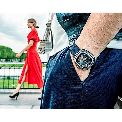 SEVENFRIDAY  T1/01 COCORICO 全球限量版 法國國慶日機械錶