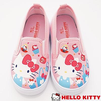 HelloKitty童鞋 輕量休閒鞋款 SE19821粉(中小童段)