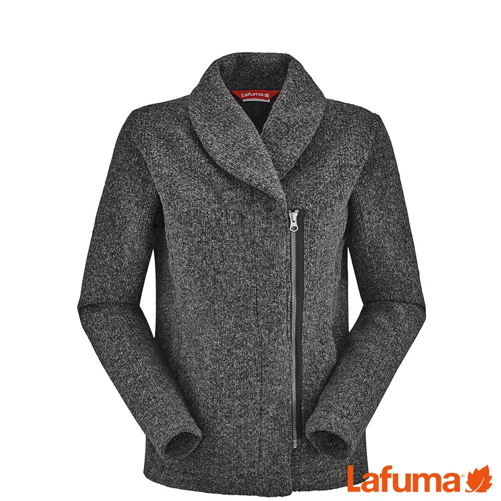 LAFUMA 女 STATEN SHAWL 保暖外套 黑灰 LFV108047085