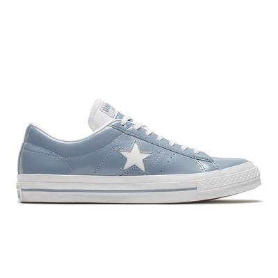 CONVERSE ONE STAR HANBYEOL OX 低筒 休閒鞋 男女 藍灰色-168133C