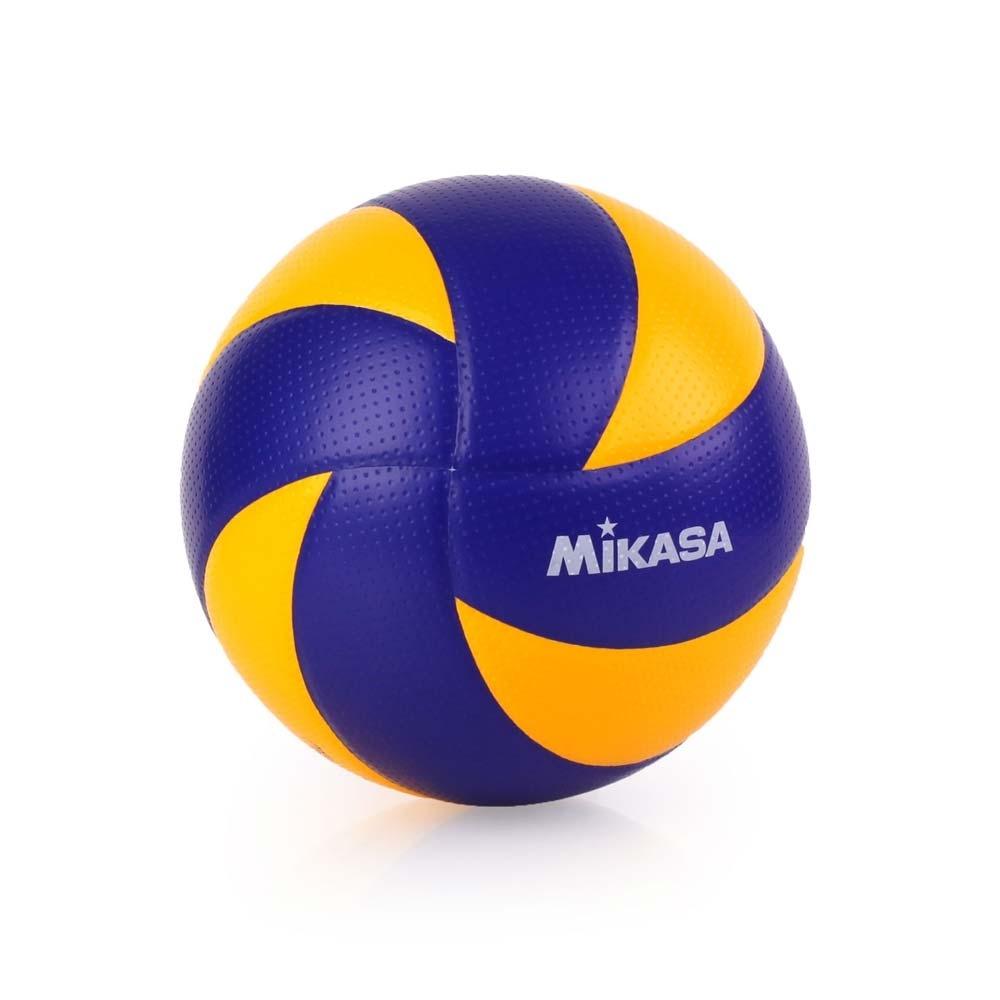 MIKASA 超纖皮製練習型排球 #5 藍黃