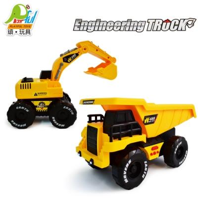 Playful Toys 頑玩具 二合一工程車