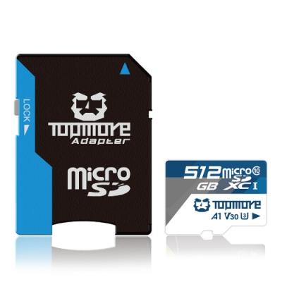 達墨 512G MicroSDXC UHS-1 U3 A1 V30 Class 10記憶卡