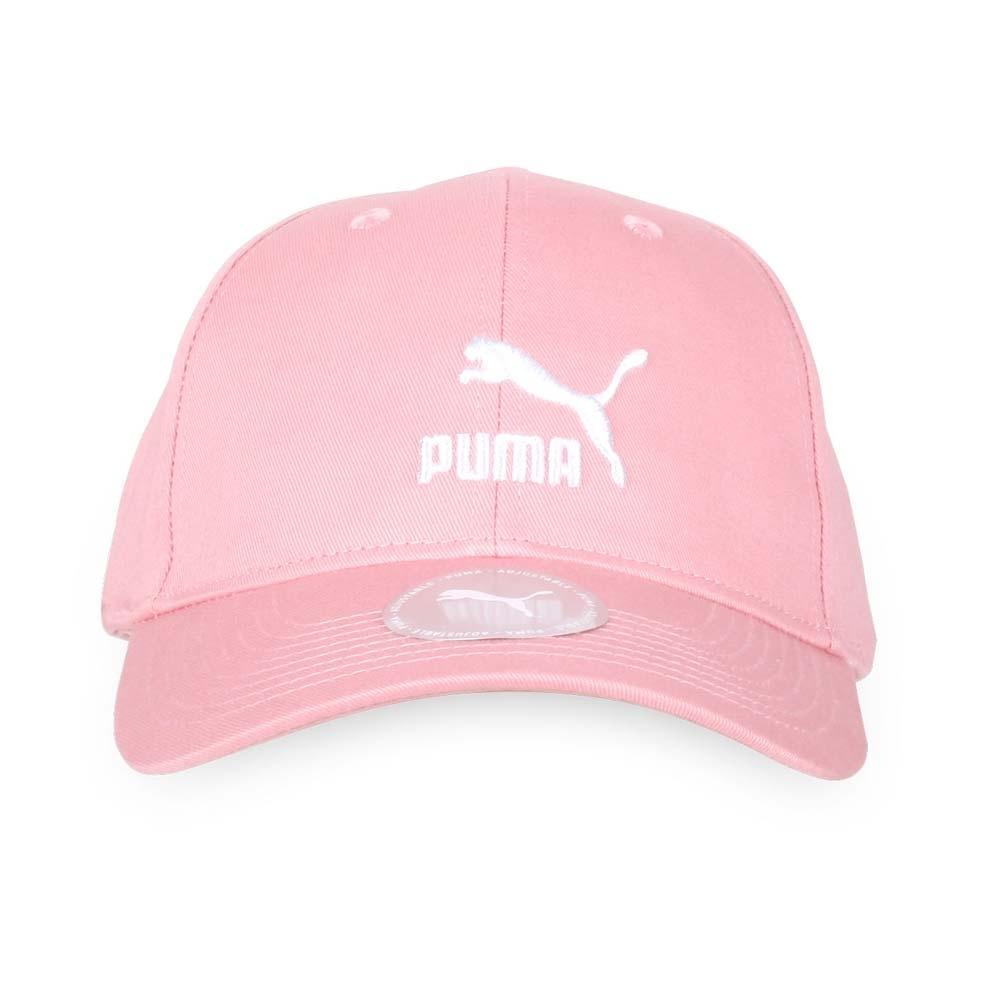 PUMA 流行系列棒球帽 荳蔻粉白