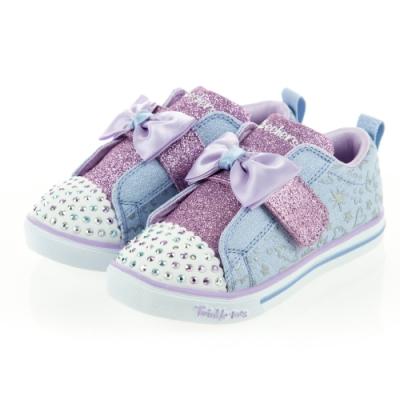 SKECHERS 女嬰童系列 燈鞋SPARKLE LITE - 20261NLBLV