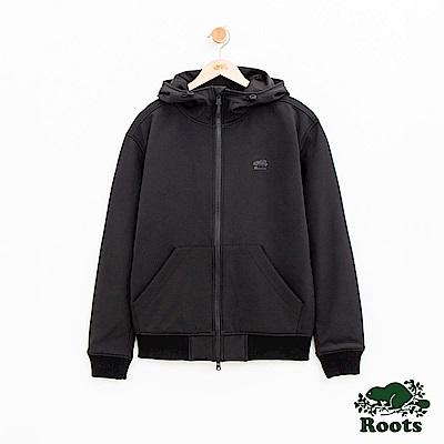 男裝Roots 冰山軟殼外套-黑
