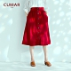 【CUMAR】氣質簡約排釦-長裙(二色) product thumbnail 1