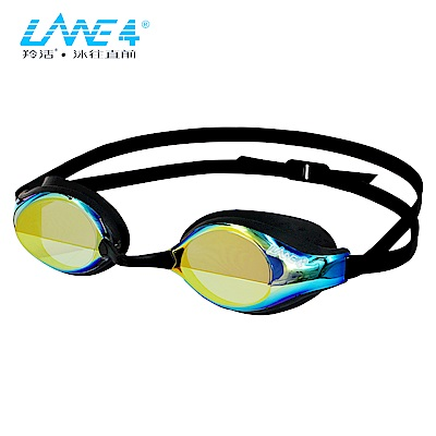 羚活 電鍍膜防霧泳鏡 LANE4 A923
