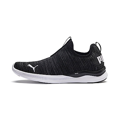 PUMA-IGNITE Flash Summer Slip 男性慢跑鞋-黑色