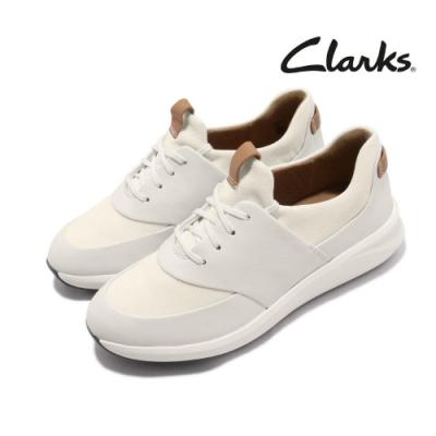 Clarks 休閒鞋 Un Rio Lace 真皮 女鞋