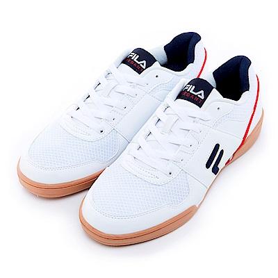 FILA 男款復古運動鞋-白 1-C301S-101
