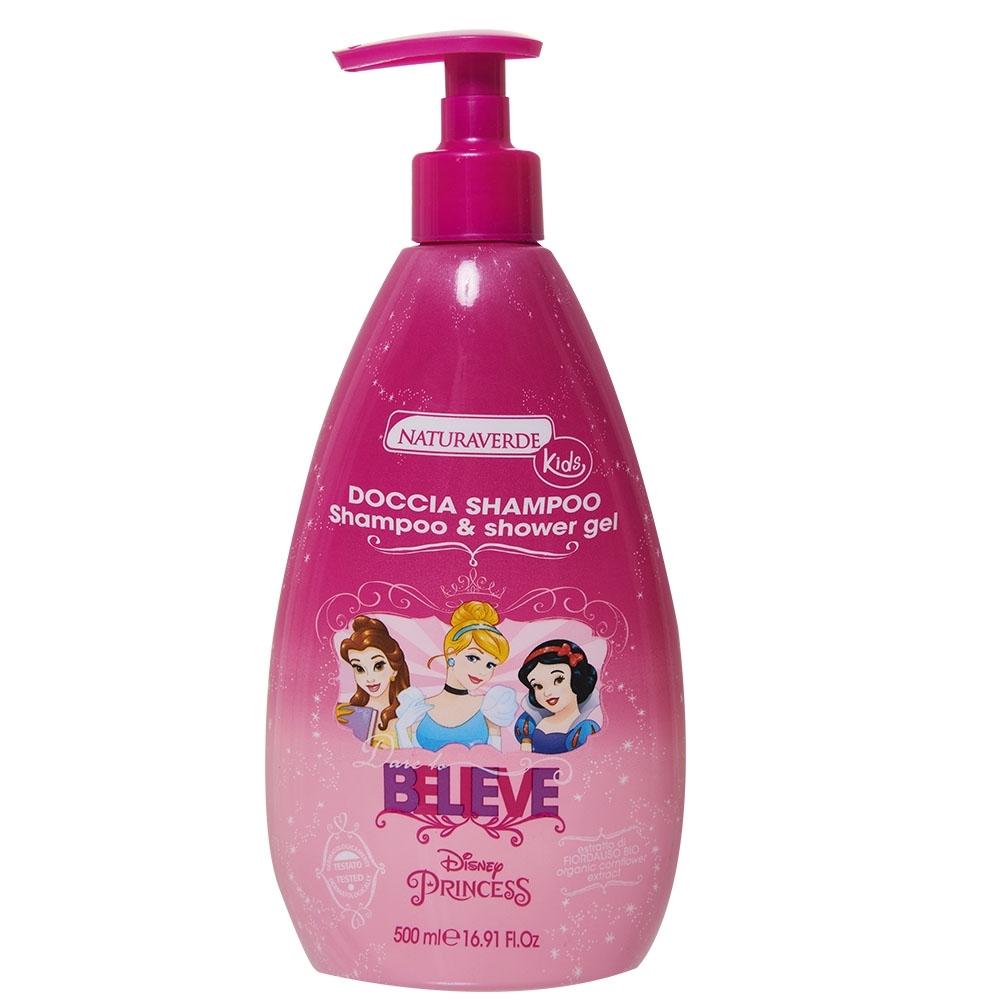 自然之綠 迪士尼公主2合一洗髮沐浴雙效露 500ml