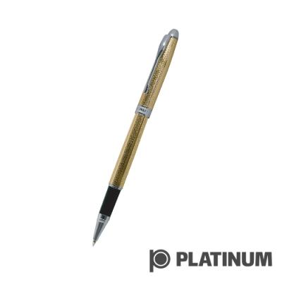 PLATINUM白金 鋼珠筆 | 日系 雕花鍍金 WKG-1000