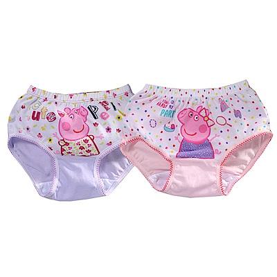女童粉紅小豬純棉三角內褲(四件一組)k50954 魔法Baby