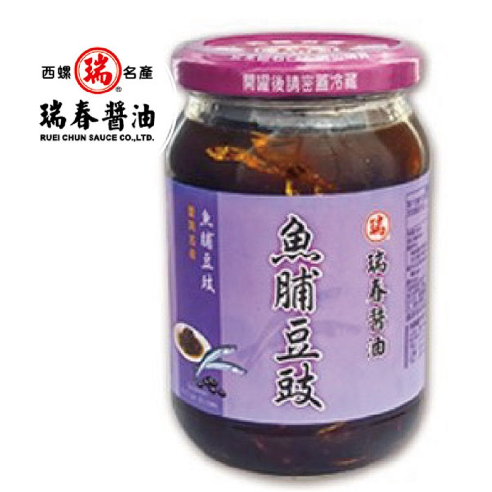 瑞春 魚脯豆豉(十二瓶入)