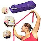瑜珈伸展帶 雙扣環拉力繩 瑜珈帶 -附贈隨身收納袋 kiret