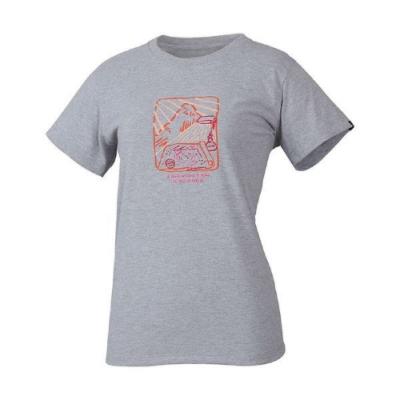 MILLET 女 HUGO PLANNING 排汗短袖T恤 灰-MIV017874809