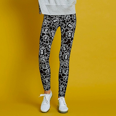 CACO-滿版米奇款內搭褲(兩色)-女【RDI052】
