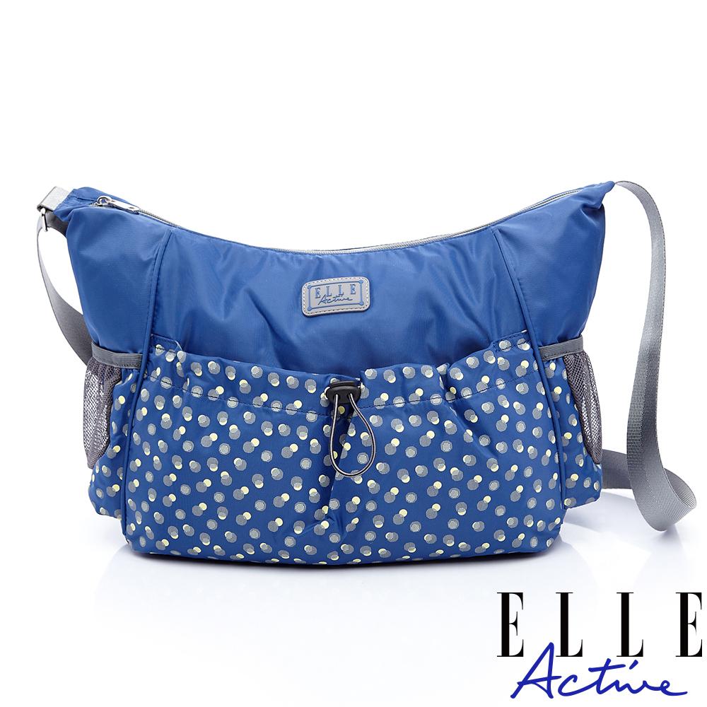 ELLE Active 旅人系列-側背包/斜背包-藍色